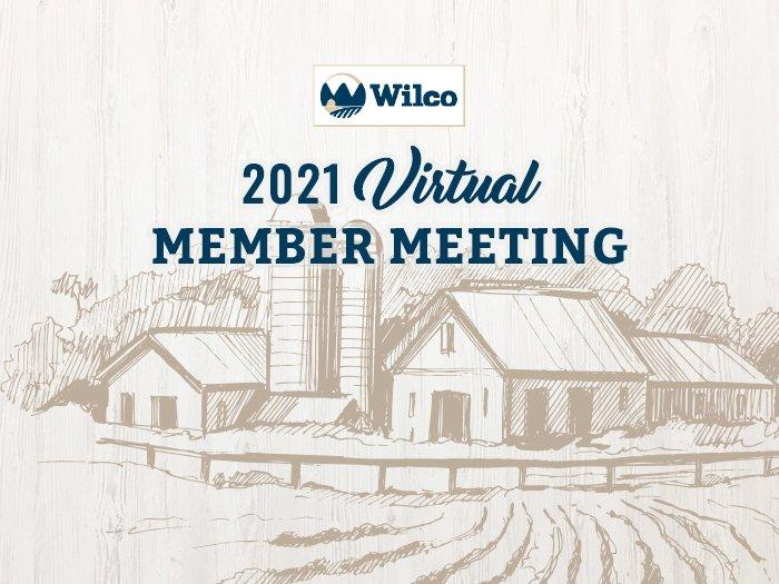 Virtual member meeting