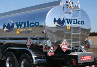 Wilco fuels truck