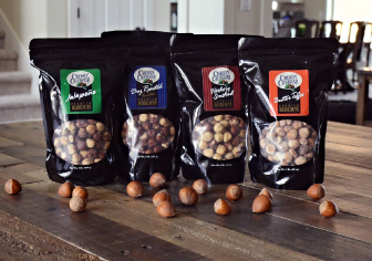 Assorted Flavors of Hazelnuts by Oregon Orchard