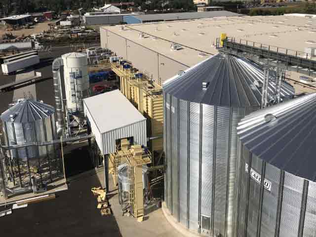 Storage Silos And Cleaning Equipment Hgo Hazelnut